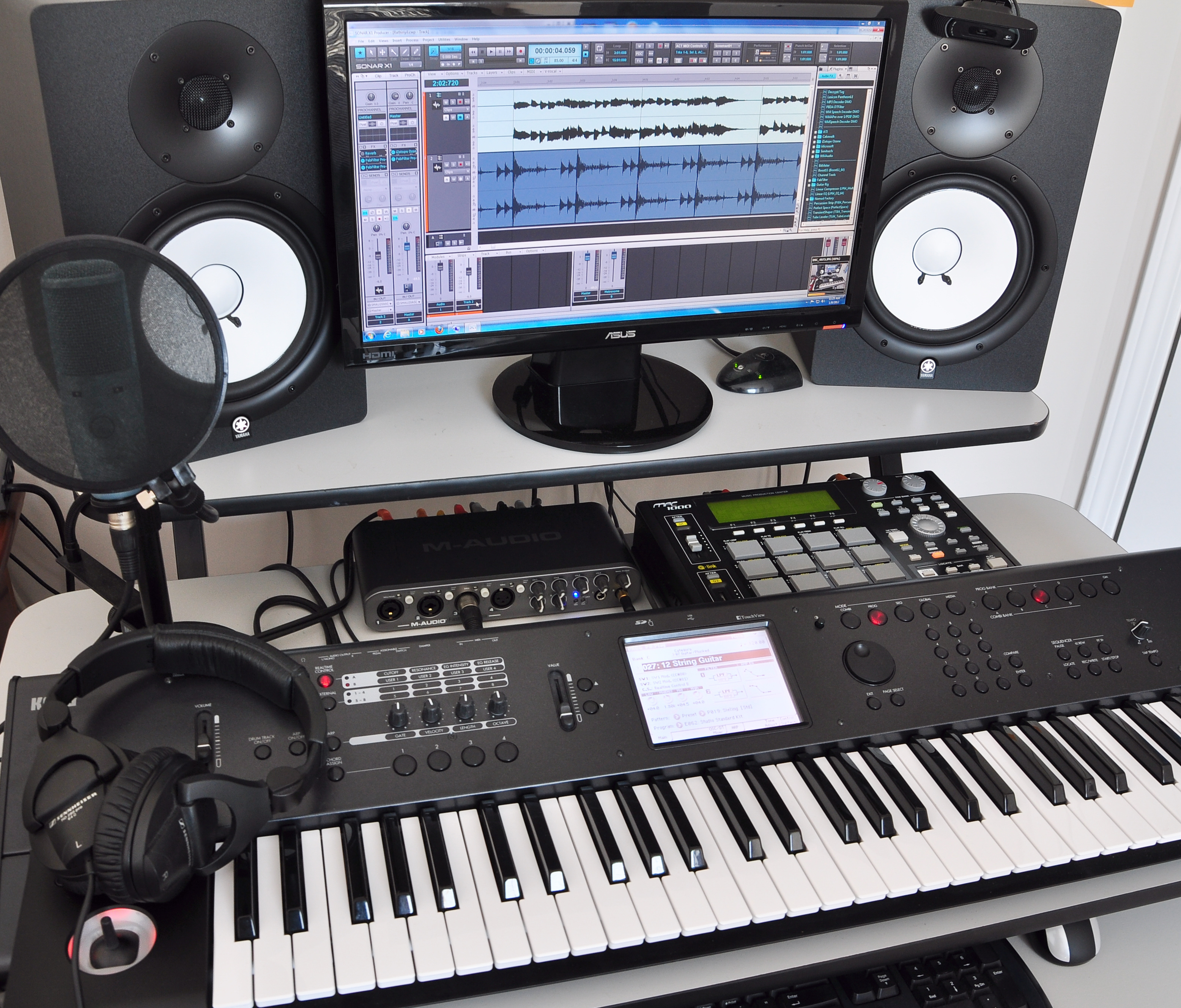 Marvelous My Home Studio My Music Journey Largest Home Design Picture Inspirations Pitcheantrous